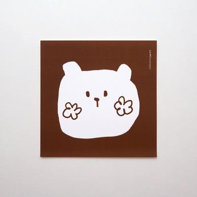 곰 토끼 엽서
