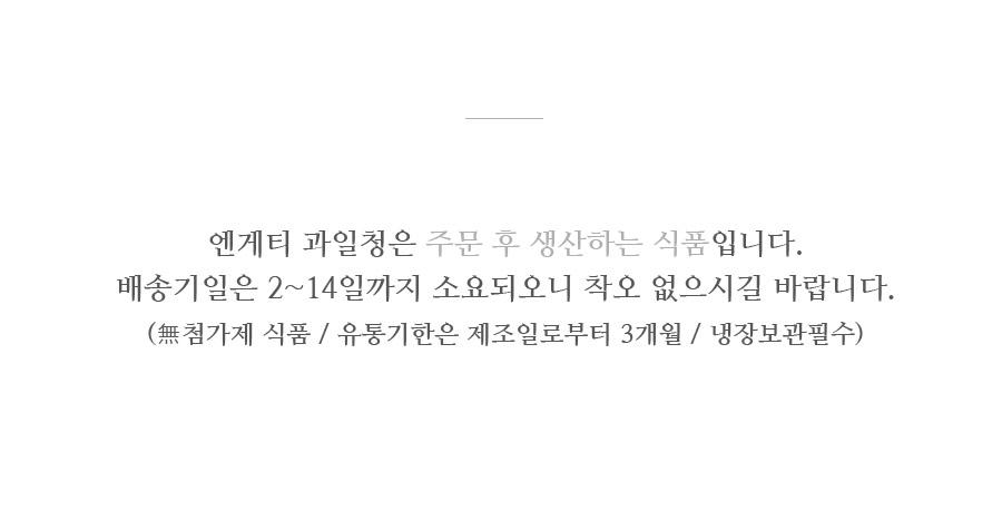 선물세트 레몬청 x 블루베리레몬청 수제청 - 엔게티, 30,000원, 차, 과일청