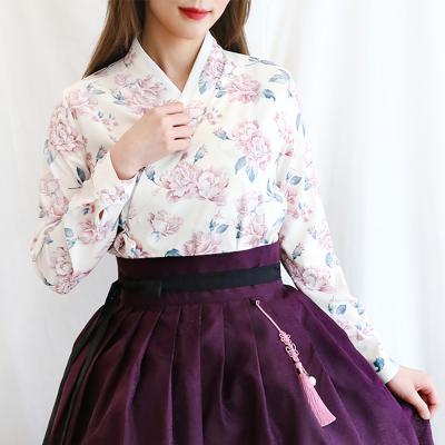 핑크로즈 장저고리(아이보리)