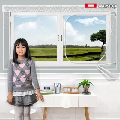 다샵 창문형 지퍼식 방풍비닐 투명 200x165
