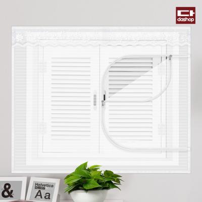 다샵 창문형 지퍼식 모기장 화이트 150x120