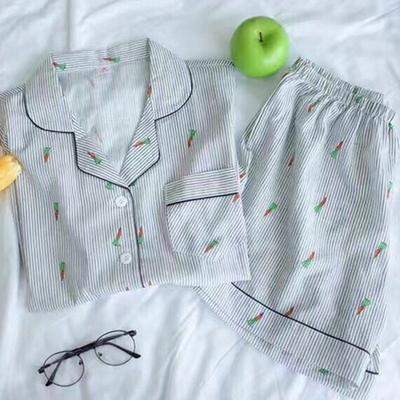 당근 여름잠옷 파자마 세트