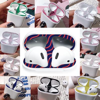 에어팟케이스 철가루방지 스티커 패키지 파스텔 패턴