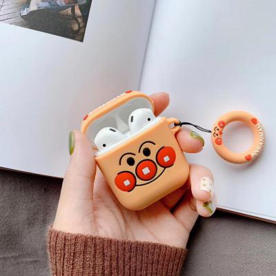 에어팟 캐릭터 실리콘 케이스 분실방지 핑거링 고리
