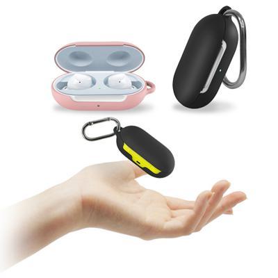 갤럭시 버즈 전용 솔리드 블루투스 무선 이어폰 케이스 키링세트 버드 BUDS 악세사리