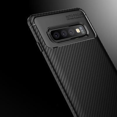 아이폰 XR XS MAX X 7 8플러스/슬림 카본 범퍼 실리콘 휴대폰 케이스