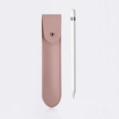 아이펜슬 1 2세대 슬리브 소프트 핑크 가죽 파우치 수납 보관 케이스 분실방지 악세사리