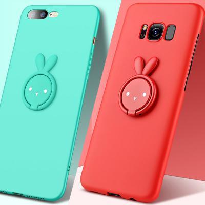 갤럭시노트10 노트10플러스 N971 N976 귀여운 토끼 캐릭터 스마트링 휴대폰 케이스