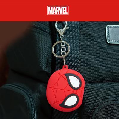 에어팟케이스 차이팟 1/2 정품 마블 히어로 피규어 캐릭터 실리콘 충전 커버 고리 키링세트