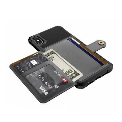 아이폰XR/XS/MAX/7/8/플러스/카드 지갑 범퍼 케이스