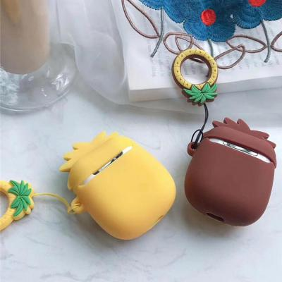 에어팟 에어팟2 썸머 여름 과일 캐릭터 실리콘케이스 핑거링