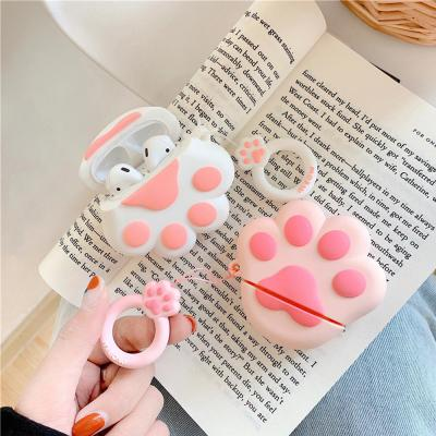 에어팟 에어팟2 고양이발 젤리 3D 입체 실리콘 케이스