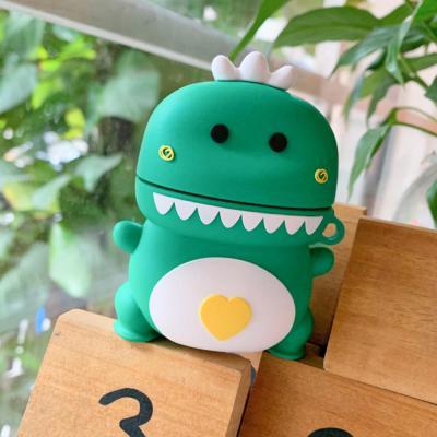 에어팟 1,2세대 입체아기공룡 캐릭터 커플 실리콘케이스