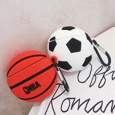 에어팟 에어팟2 차이팟 농구공 축구공 실리콘 케이스 세트