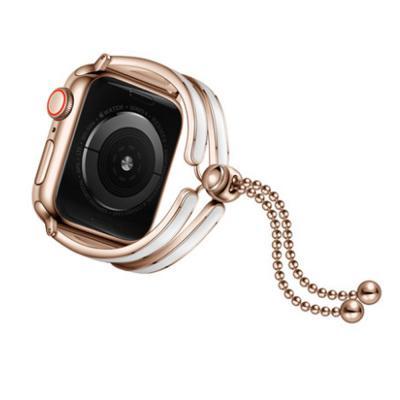 애플워치 1 2 3 4 로즈골드 스틸 밴드 스트랩 시계줄