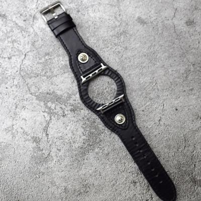 애플워치 1 2 3 4 레트로 가죽 밴드 스트랩 시계줄