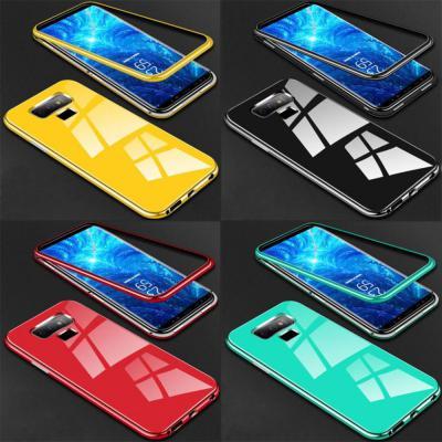 아이폰11 프로 맥스 강화유리 마그네틱 하드 폰케이스