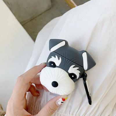 에어팟 에어팟2 차이팟 강아지 캐릭터 실리콘 케이스
