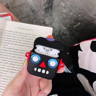 에어팟 케이스 로봇 캐릭터 실리콘 충전 1세대 2세대 차이팟