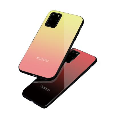 갤럭시S20 플러스 울트라 5G 그라데이션 하드 핸드폰 케이스