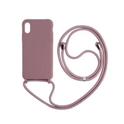 아이폰11 프로 8 7플러스 XR XS SE2 목걸이줄 컬러 젤리 케이스 세트