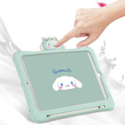 아이패드 7세대 미니 프로 에어3 토끼 캐릭터 실리콘 거치대 스탠드 케이스
