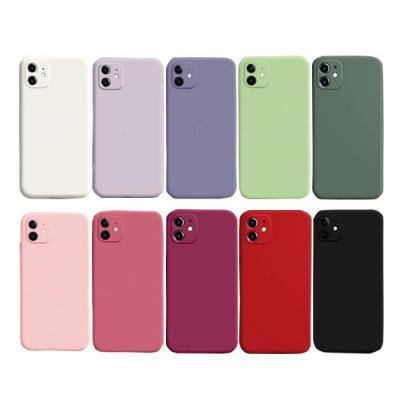 아이폰 12 11 PRO MAX SE2 8 XR 카메라보호 컬러 젤리 휴대폰 케이스