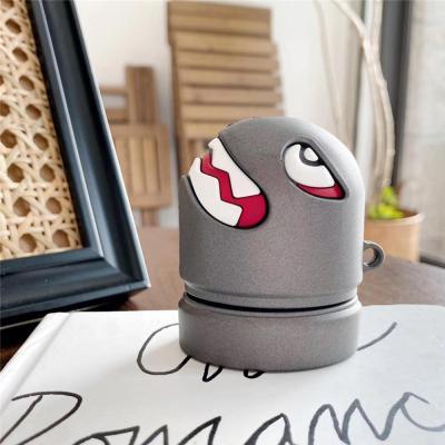 에어팟 충전 케이스 1/2/PRO 입체 로켓폭탄 캐릭터 고리형 커플 우정