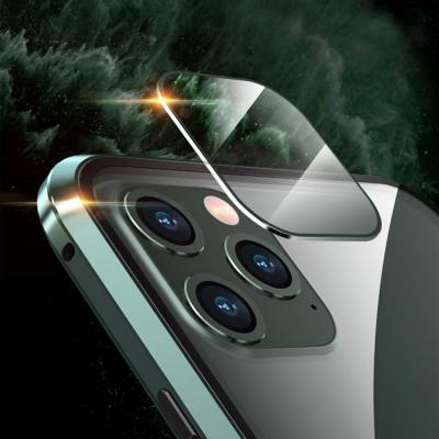 갤럭시 노트20/울트라 메탈 자석 카메라보호캡 풀커버 투명 케이스