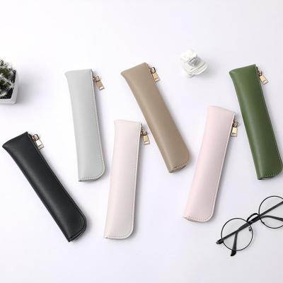 아이패드 애플 펜슬 1/2세대 모던 컬러 휴대용 가죽 필통 커버 케이스