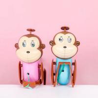 밧줄타는 원숭이 사운드 인형 토이 작동 완구 키덜트 줄당기기