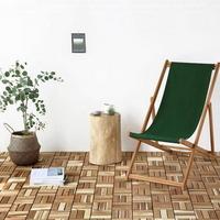 인테리어조립식마루 아카시아원목마루바닥 베란다매트