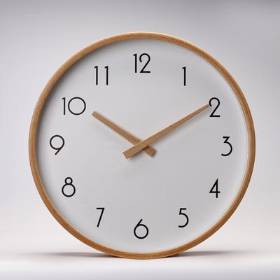 원목벽시계