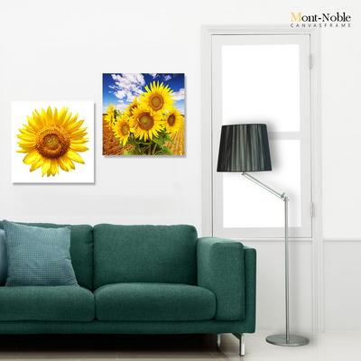 몽트노블 캔버스 그림 액자 식물 해바라기 인테리어