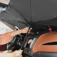 차량용 차박 앞유리 우산형 햇빛 가리개 태양열 차단
