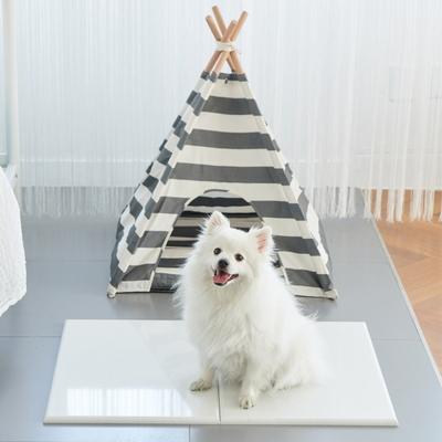 세븐펫 강아지 고양이 쿨매트 여름 방석 엔지니어스톤 대리석 침대