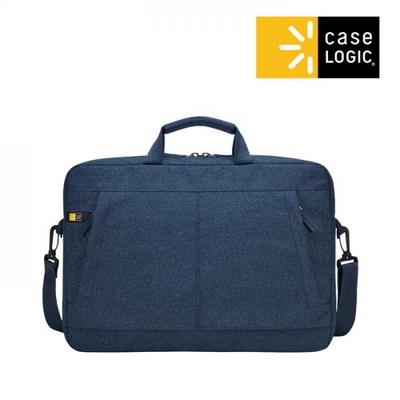 케이스로직 헉스턴 노트북 아타셰 가방 15.6인치 블루