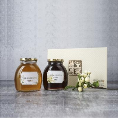 추석선물추천 박덕근벌꿀2종선물세트
