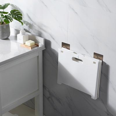 접이식 벽걸이 빨래바구니 세탁물 보관함