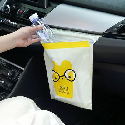 차량용 쓰레기봉투 쓰레기통 접착식