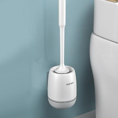 화장실 벽걸이 변기 청소솔 실리콘 변기솔
