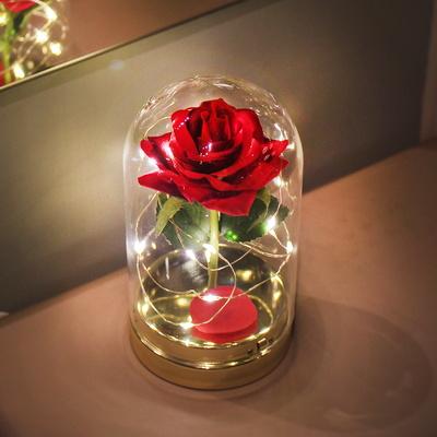 (꽃카드무료증정) 트윙클 레드 로즈돔 LED 무드등