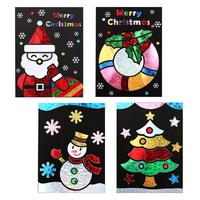 메리크리스마스 포일카드 4종set_카드만