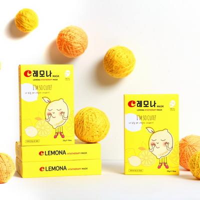 레모나 비타민 마스크팩 1일1팩 10매