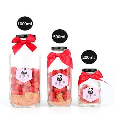 딸기베리 담금주키트 1000ml