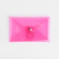 업사이클 PVC 카드 케이스 - 핑크