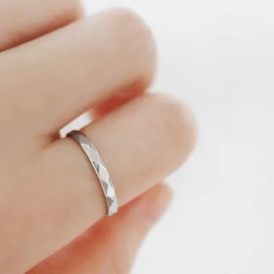 [커플링/우정링] 비올라 반지 (글자,이니셜각인가능)