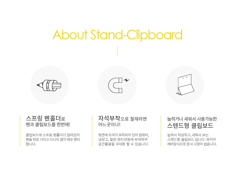 삐꾸 스텐드 클립보드 - 삐꾸의 이상한 서커스단, 6,000원, 파일/클립보드, 클립보드