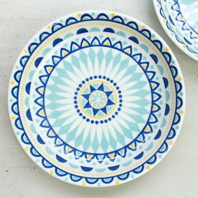 그릇 폴란디아 접시 2P세트 파스타 카레 돈까스 폴란드풍 그릇
