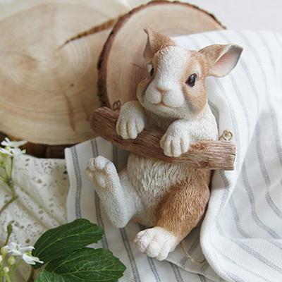 데롱데롱 토끼 장식 인형 카페 인테리어 소품 벽 장식